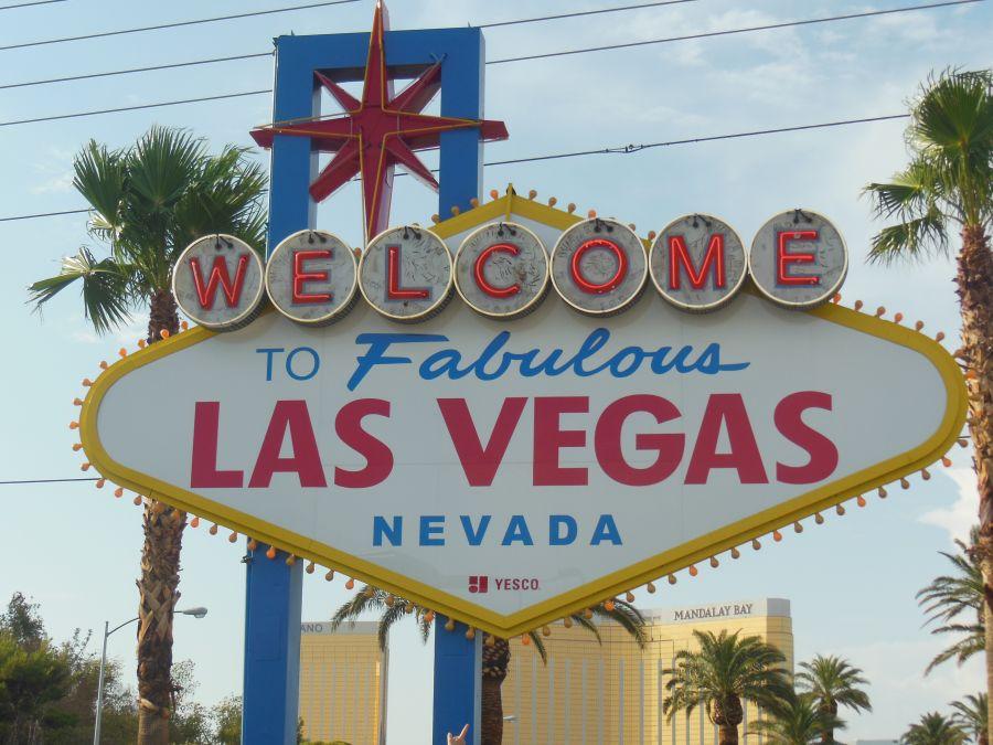 Panneau Welcome To Fabulous Las Vegas Photo Panneau