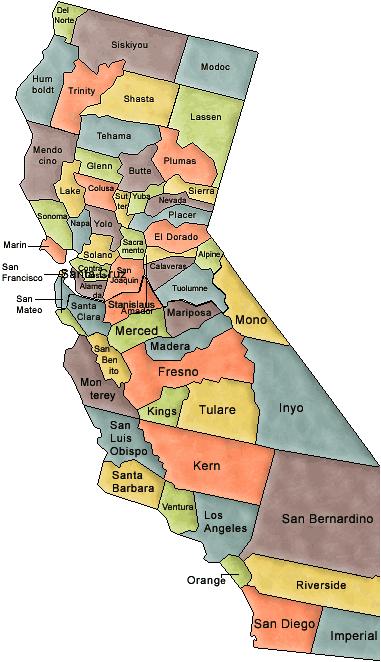 carte-de-californie