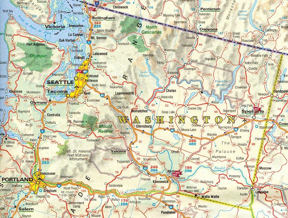 Ville Washington Plan