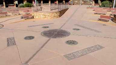 Four Cornes Monument