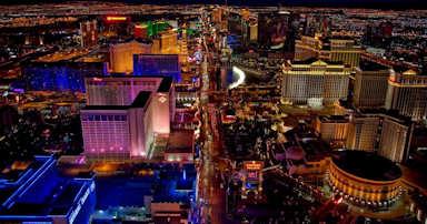 Survol de Las Vegas en hélicoptère
