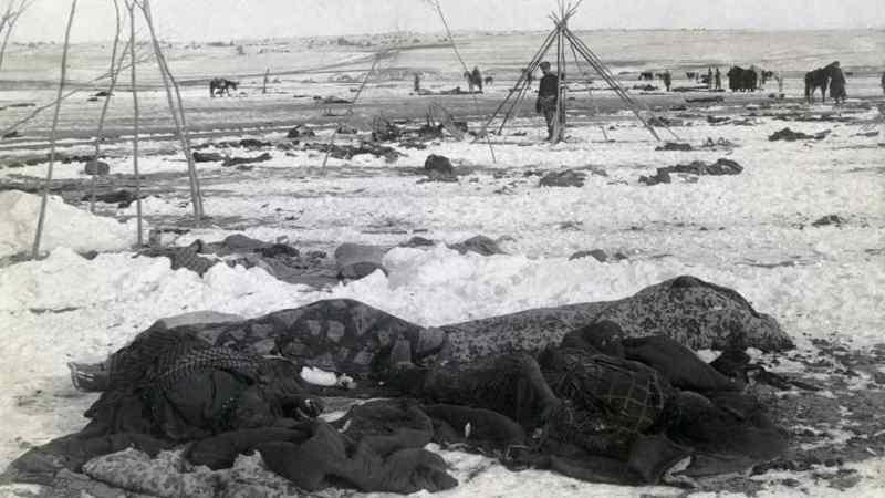 Le massacre de Wounded Knee