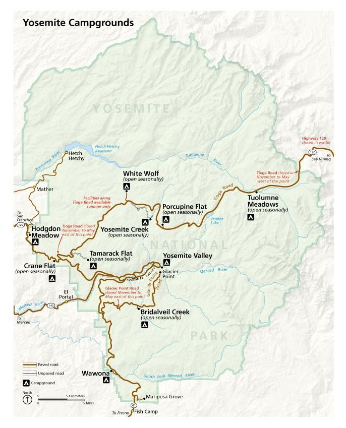 Yosemite National Park Toutes Les Infos Utiles Pour