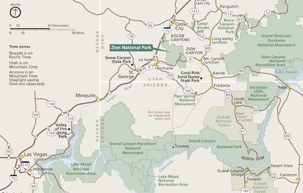 Carte d'accès à Zion