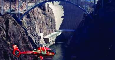 Excursión en autobús y helicóptero Hoover Dam Deluxe