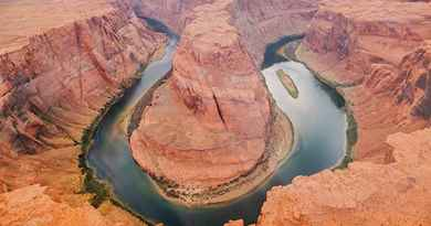 Survol du Horseshoe Bend