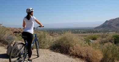 Vélo et randonnée  à Indian Canyons