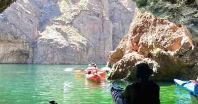 Kayak dans Black Canyon