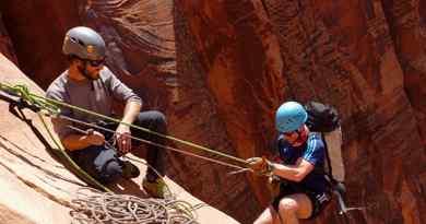 Canyoning dans le canyon Zig Zag