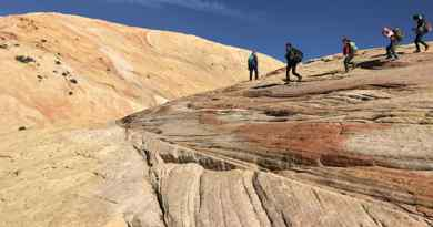 Randonnée Yellow Rock