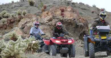 Excursion en quad à l'Eldorado canyon