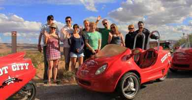Visite du Red Rock Canyon en Scootercar