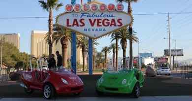 Visite de Las Vegas en Scootercar