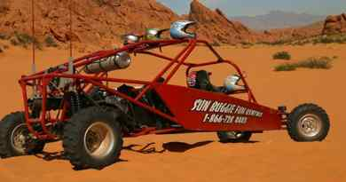 Excursion en quad ou en buggy dans la Valley of Fire