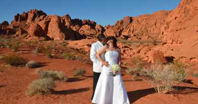 Mariage à Valley of Fire