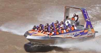 Tour en speed boat sur le fleuve Colorado