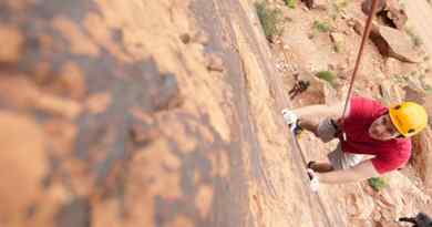 Escalade dans les canyons