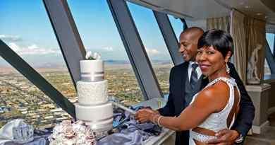 Mariage au sommet de la Stratosphere Tower