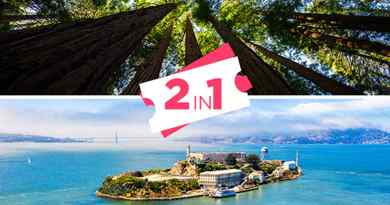 Billet Alcatraz + Excursion à Muir Woods & Sausalito
