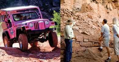 Tour archéologique des canyons en 4x4 et à pied
