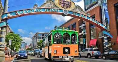 Visiter San Diego en trolley bus