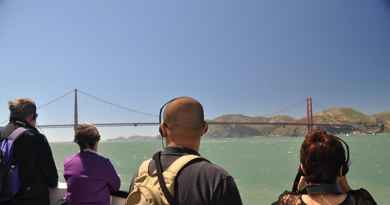 Croisière du Golden Gate au Bay Bridge