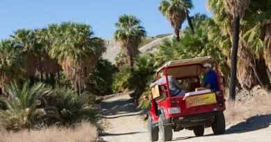 Tour nocturne en jeep sur de la faille de San Andreas