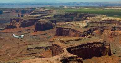 Survol des Parcs d'Arches et Canyonlands en avion