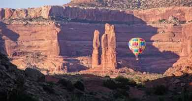 Tour en montgolfière au lever du soleil