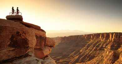 Randonnée en VTT dans les canyons