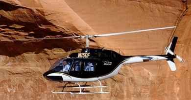 Tour en hélicoptère à Sedona 35mn
